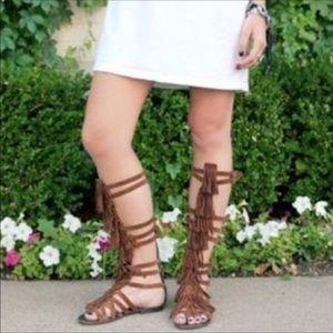 Steve madden gladiator leather sandal c3